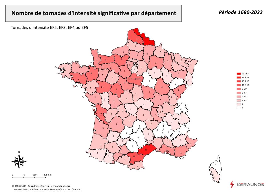 Vignette d'illustration des tornades en France